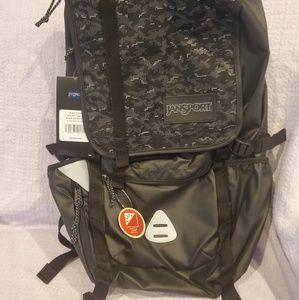 Men Jansport Bags Hatchet Spec Ed Back Pack Black